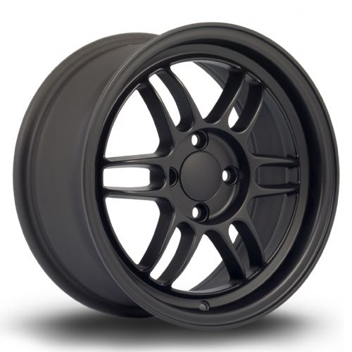 356 Wheels TFS3 15x7 ET38 4x100 Flat Black